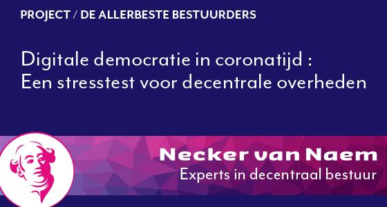 Digitale democratie in coronatijd | Beste Bestuurder